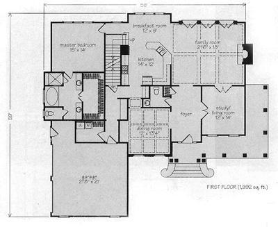Stunning Fox Hall House Plan Gallery - Best inspiration home ...